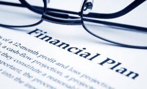 financiële planning kan gelezen worden met deze bril
